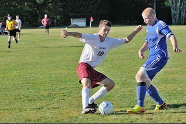 GSA soccer player Finn Davis-Batt