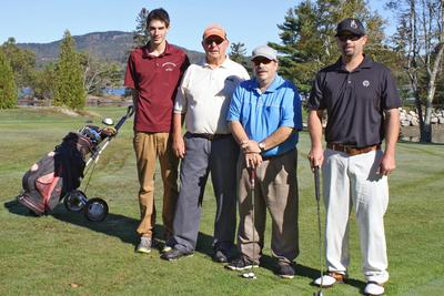 Duane Gray Memorial Golf tournament morning champs