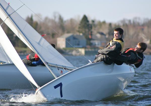 GSA sailors Alex Witting and Erik Bailey