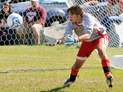 GSA goalkeeper Keenan Hilsinger
