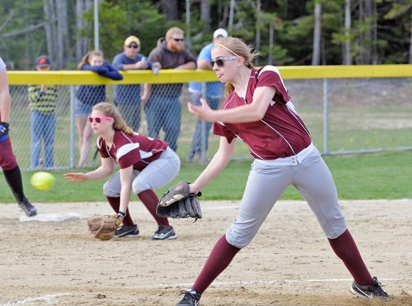 Meredith Torrey pitches during a game on May 16