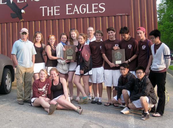 Class C Eastern Maine tennis champions