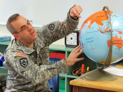 Brooksville teacher to leave for active duty