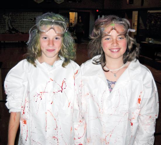 Sixth-grade mad scientists