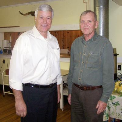 Potluck and talk on local farming