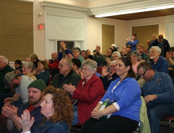 Crowd at Blue Hill Forum