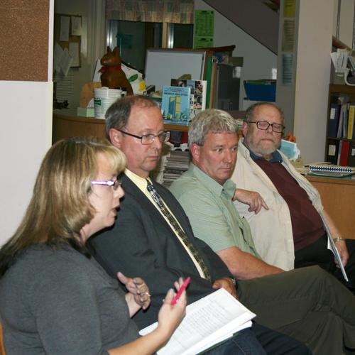 Blue Hill School Board meeting