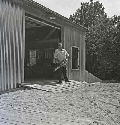GORDON ROBBINS, PRO-PRIETOR of a general store on Route 172