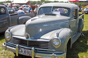 1947 Hudson Super Six pick-up truck at the Sedgwick Car Show