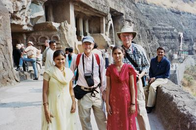 Robert Englebach and Don Thurston in India
