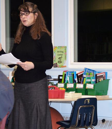 Special Services Director Sheila Irvine