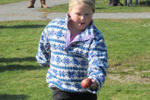 Sedgwick Elementary student Lily Allen