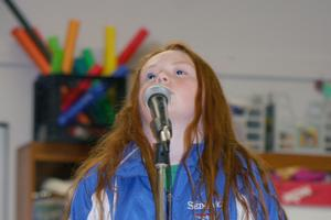 Sedgwick Elementary School's Seska Whelan