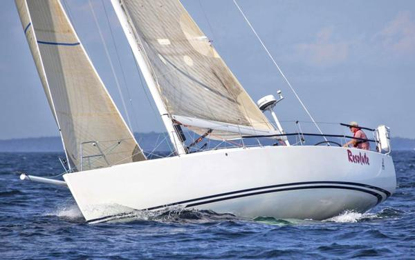 Blue Hill resident Scott Miller sails in the Bermuda One-Two Race