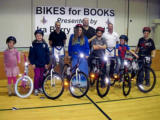 Sedgwick readers rewarded with books