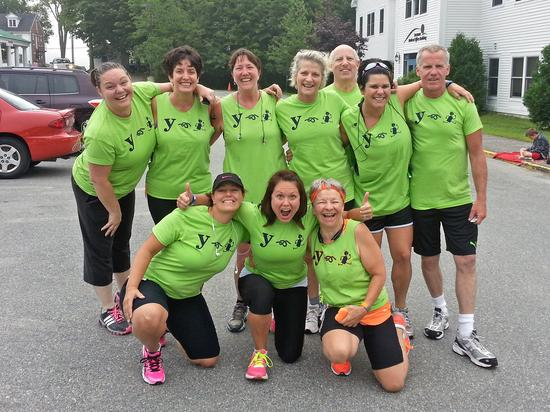 Blue Hill YMCA's Couch to 5K program