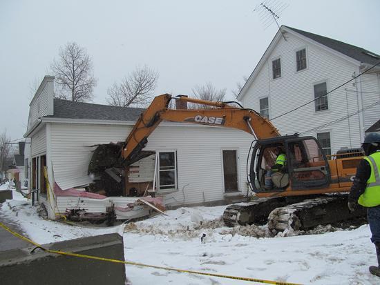 Candage building demolition 1