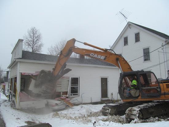 Candage building demolition 2