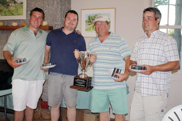 Duane Gray Memorial Golf tournament afternoon champs