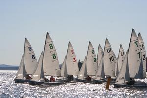 Racing begins at the regatta