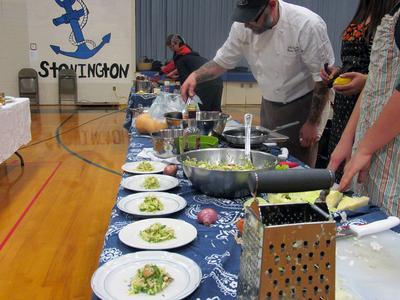 'Iron Chef' Kris Burrin, chef at The Factory Tavern in Stonington