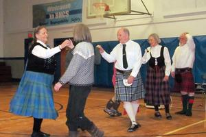 Scottish Dancing on New Year's Eve