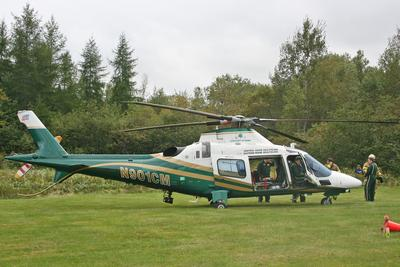 Surry Fire Dept. open house Life Flight helicopter
