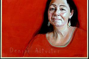 Rob Shetterly's portrait of Denise Altvater