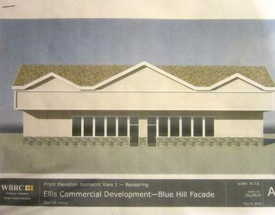 South Street, Blue Hill commercial building plan