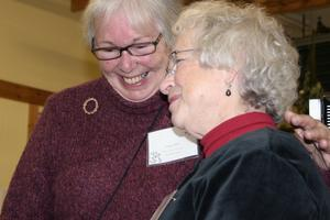 Bette Britt and Packet co-founder Gayle Durnbaugh