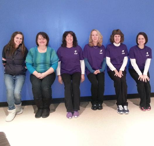 The staff of the YMCA