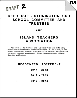 DIS CSD Teacher's Contract 2011-2012