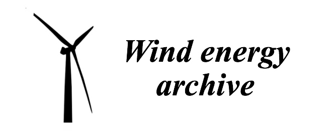Wind Energy Archive
